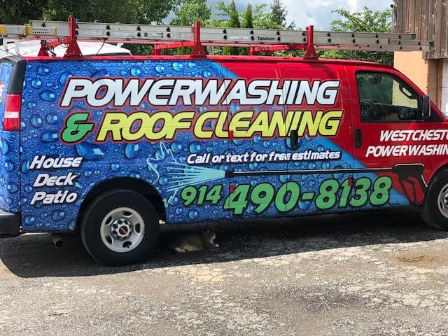 Rye, Thornwood soft roof washing, pressure cleaning- westchester power washing,