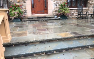 slate, tile, stones, wood patio and walkways pressure washed, roof soft washing, roof shampoo, westchester power washing 914-490-8138,